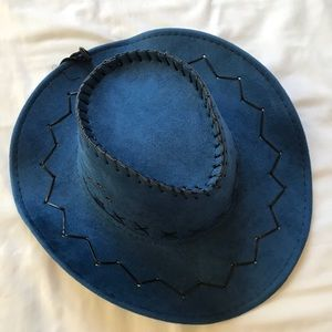 Accessories - Cobalt Blue Cowboy Hat